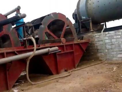 发往海南省的球磨机制沙工作现场