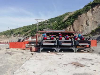 500吨洗砂机