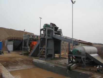 挖斗式制砂机